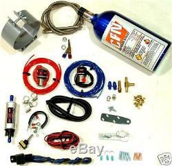 MOTORCYCLE NITROUS OXIDE WET KIT Single Carburetor NOS Kit NEW