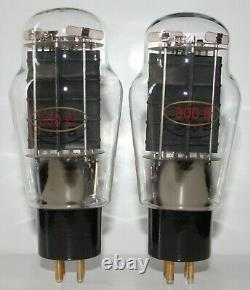 Matched Pair KR Audio 300B tubes, NOS from 2006, Brand New in Box
