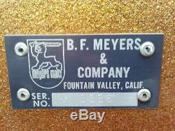 Meyers Manx dune buggy body, stickers, hood emblem, rear badge NEW OLD STOCK