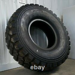 Michelin XZL+ 46 395/85 R20 Military 6X6 M35 MRAP Mud Truck Tires New Old Stock