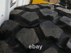 Michelin XZL 53 16.00 R20 HEMTT M977 4X4 Dakar Service Truck Tires, NOS Surplus