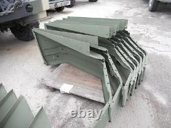 Military Surplus NOS Passenger Side Fender for M35A2/ M35A3 with Non-Skid Surface
