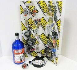 Motorcycle Bike Nos Efi Wet Nitrous Nitro Oxide System Direct Port 4 Fogger Kit