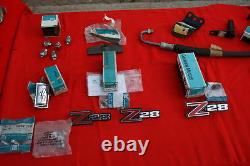 NOS 1970 Z28 SS RS Camaro Parts Collection ALL GM NOS
