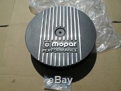 NOS Mopar Performance Black Cast Aluminum 13 Air Cleaner Assembly 340 440 Dodge