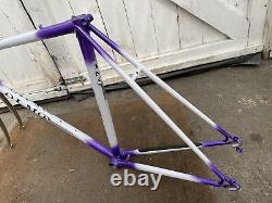 NOS OLMO Vintage Steel Italian Road Bike Frame And Forks 53cm