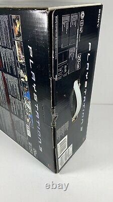 NOS PS3 Sony Playstation 3 CECHB01 First US Release Back Compatible Sealed