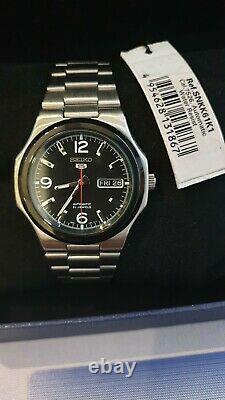 NOS SEIKO 5 Sports SNKK61K1 Automatic Watch SeikoNaut Nautilus 7S26-03R0 38mm