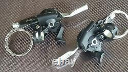 NOS Shimano Deore XT ST-M770 Shifters 3x9 Speed (PAIR) Gear Brake Levers (NEW)