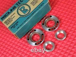 NOS Vintage Redline Tecmatic Bottom Bracket Set For Flight Cranks RL20 II