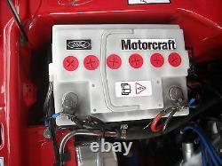 NOS White Battery Ford Capri MK1 MK2 MK3 MK4 Granada Cortina -Taunus 68AH
