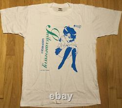 NOS vintage 1994 SAILOR MOON shirt L anime Sailor Mercury Japan new 90s Ami