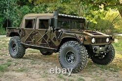 New Am General M-998 H1 Humvee 4 Four Man Soft Canvas Top With Curtain Nos Tan