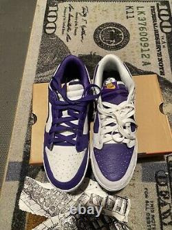 Nike Dunk Low'Flip The Old School' 10.5w / 9m DJ4636-100 Made You Look New