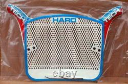 Nos Bmx Bob Haro Tech Plate Genuine1983 Made Item Red/white/blue Old School