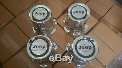 Nos Jeep Grand Wagoneer Wheel rim Center Caps'80'91