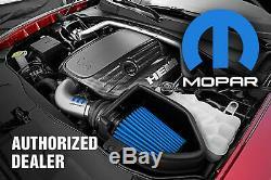 Nos Mopar Performance Black Cast Aluminum Small Block 318 340 360 Valve Covers