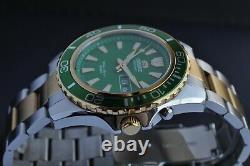 Nos! Orient Mako Gold XL 200m Diver Sport Men's Wrist Watch DAY DATE Limited R