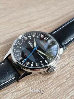 Nos! Raketa 24-Hour Men's Wrist Watch Extreme Watch Vintage USSR 2623, H