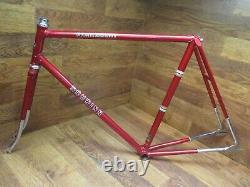 Nos Schwinn Paramount Lugged Steel Track Racing Pista Frame Set 56cm