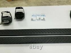 OEM 2015-2021 Ford F150 Truck Running Boards BLACK 5 Crew Cab New T/Off