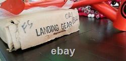 Old BMX NOS SE Racing Quadangle Freestyle Rare Buff Orange Hutch Vector Gear