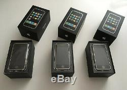 Old Stock Apple iPhone 2g 1st Generation 4gb- 8gb-16gb Collectors Rare