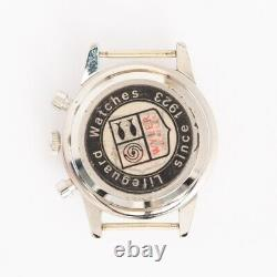 Original Wyler Chronograph Lifeguard Valjoux 72 Steel NOS No Bezel Case