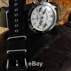 POLJOT Chronograph 3133 Standard Uhr mechanisch NOS 1990er Russland Vintage