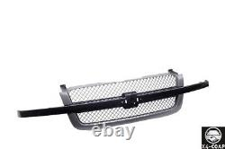 Paint To Match Smooth Front Grille SS Style For 03-07 Silverado 1500 Old Body