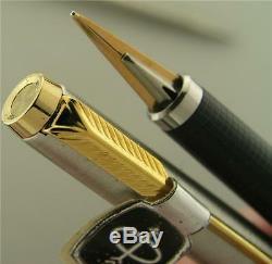 Parker 180 Flighter F Pen Fine-Broad 14K Nib NOS Tag