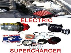 Performance Electric Air Intake Supercharger Fan Motor Kit Fit For Toyota