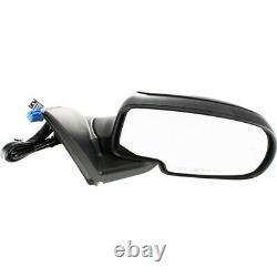 Power Mirror For 1999-06 Chevrolet Silverado 1500 Right Manual Fold With 2 Caps