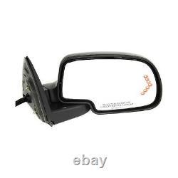 Power Mirror For 1999-2006 Chevy Silverado 1500 Heated Manual Folding Set Of 2