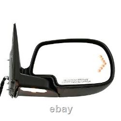Power Mirror For 2003-2006 GMC Sierra 1500 Right Power Folding With Signal Light