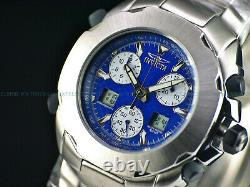 RARE NOS Invicta 40mm Men's Swiss ETA 251.265 Analog Digital Chrono Alarm Watch