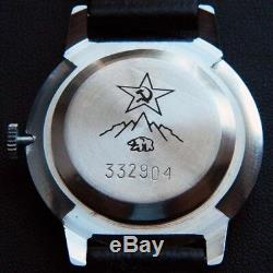 RARE USSR RAKETA ANTARCTICA ANTARCTIDA Polar 24H Wristwatch Rocket NOS