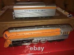 RIVAROSSI HO Chesapeake & Ohio The Chessie 6 Car Passenger Set NOS RARE