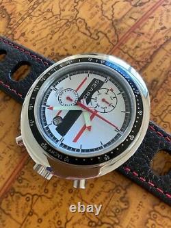 Racing Retro SEARS Automatikuhr Watch Tachymeterskala NOS Style