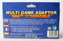 Rare Vintage 90's Nintendo 64 Multi Game Adaptor Starfox N64 Compatible New Nos