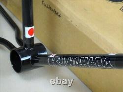 Rare Vintage NOS'82 Kuwahara KZ-1 20 Black Frame & Fork Set ET