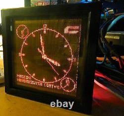 Rarest NOS/NIB NIXIE MATRIX screen 100x100 (10000) Z568M