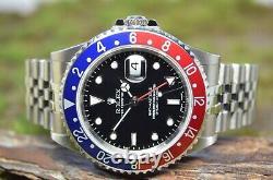 Rolex Pepsi GMT Master II von 2006, UNGETRAGEN, NOS, B&P, full set, Ref 16710