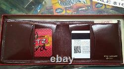 Shell Cordovan by Huch Wallet New Old Stock Vintage Traditional Brown Leather