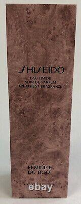 Shiseido Vintage EAU TIMIDE Splash Parfum Feminite Du Bois 3.3 OZ New Old Stock