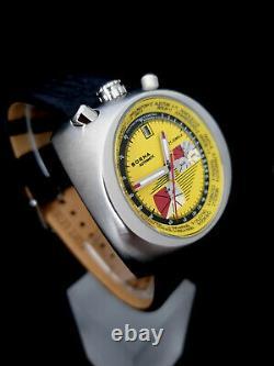 Sorna Armbanduhr Automatik Bullhead Nos-sytle Gelb