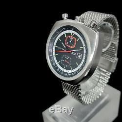 Sorna Tachymetre Automatik Bullhead Nos-sytle Retro Armbanduhr