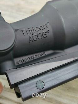 Trijicon ACOG TAO1NSN NOS! Pre-2010 Bible Verse REAL Military Issue Surplus RARE