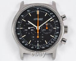 Vintage 1970's NOS Wakmann Stainless Steel Chronograph with Lemania cal. 1873