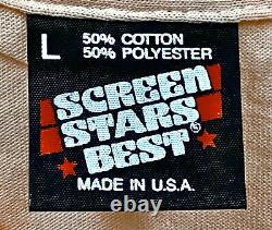 Vintage 80s MISTER SOFTEE Ice Cream Truck Screen Stars T SHIRT DEADSTOCK NOS L